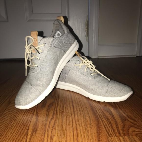 897903a77b4a35 Toms drizzle grey Chambray Mix Women s sneakers. M 5b6601a581bbc8b275505352
